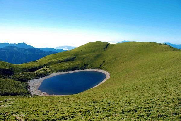 台灣嘉明湖─天使的眼淚