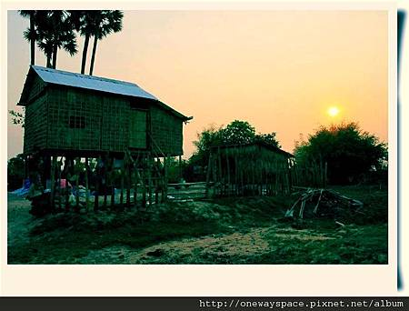 柬埔寨的房子