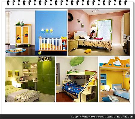 小孩房配置