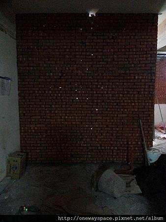 粗糙的磚牆
