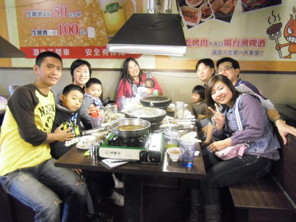 20110205杜小姐一家第二次到訪