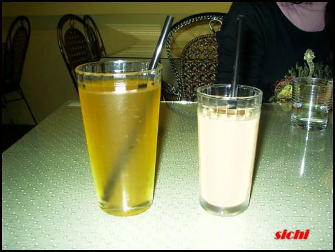 綠茶&奶茶