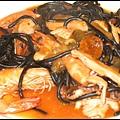 海鮮墨魚麵