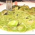 鮮蛤蘿勒麵