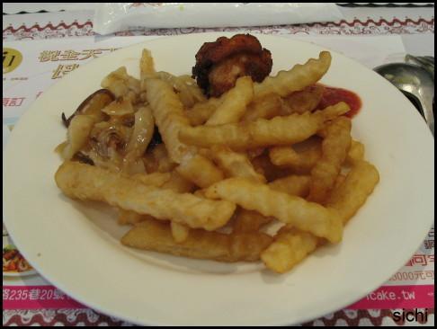 薯條等雜食