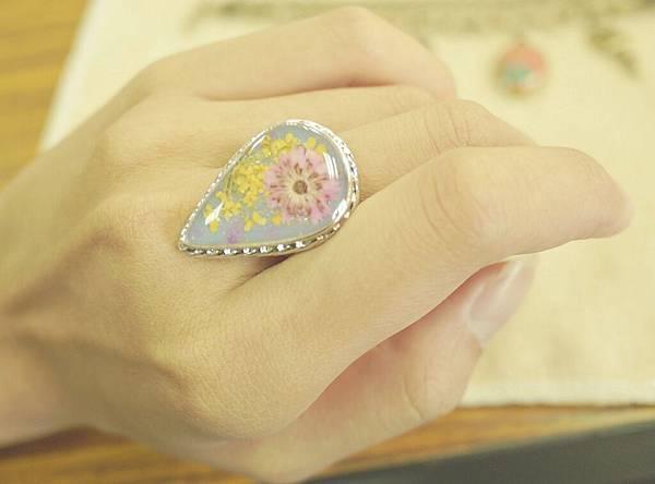 《奇幻花園 Fantasy Garden》系列- 復古鑲花戒指