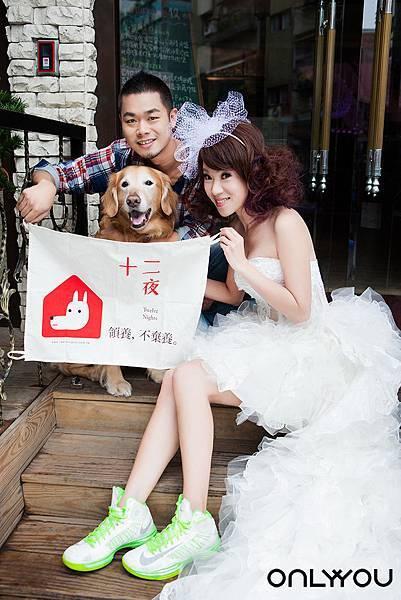 寵物婚紗作品- (3)