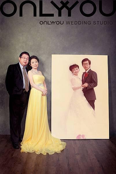 劉媽媽30週年照-不管時間怎麼變,我們的愛總不變