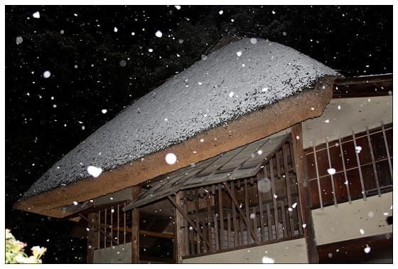 09雪覆茅庵