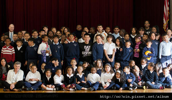Day of Giving-visiting St.Jarlath's School in Oakland,CA