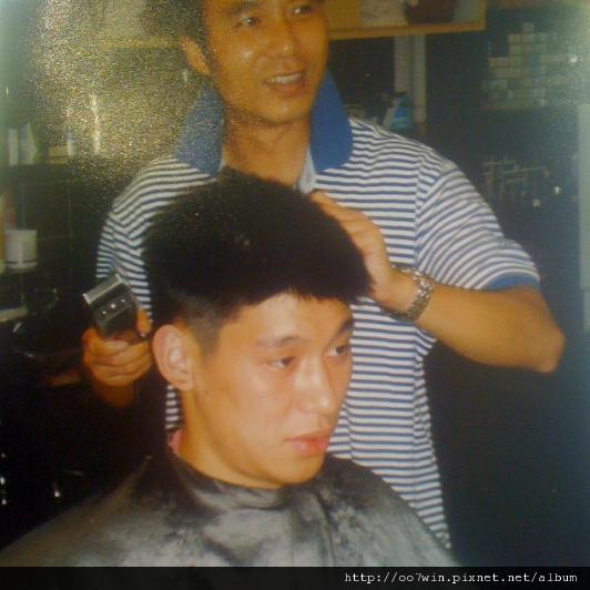 林書豪美髮師