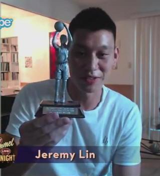 Jeremy Lin and Roy Hibbert in the JKL Skype Scavenger Hunt4