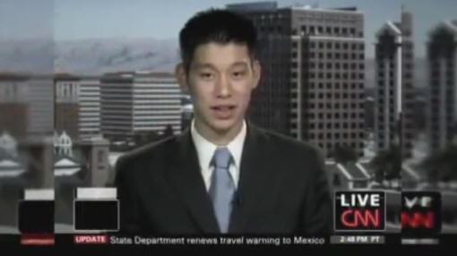 林書豪-Live CNN2