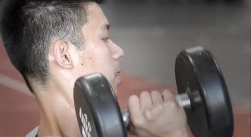 2012.07林書豪體能訓練2