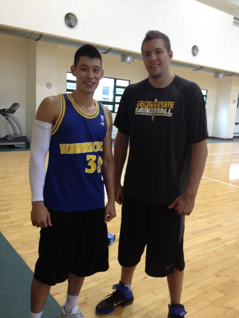 27日下午到台啤球隊籃球館練球兼做重量訓練