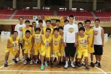 2012國泰豪小子籃球營落幕