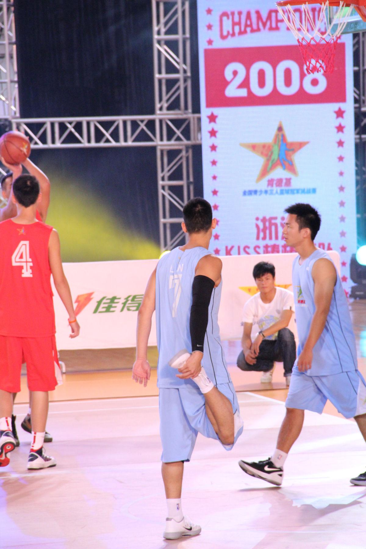 林書豪 肯德基3人籃球 24