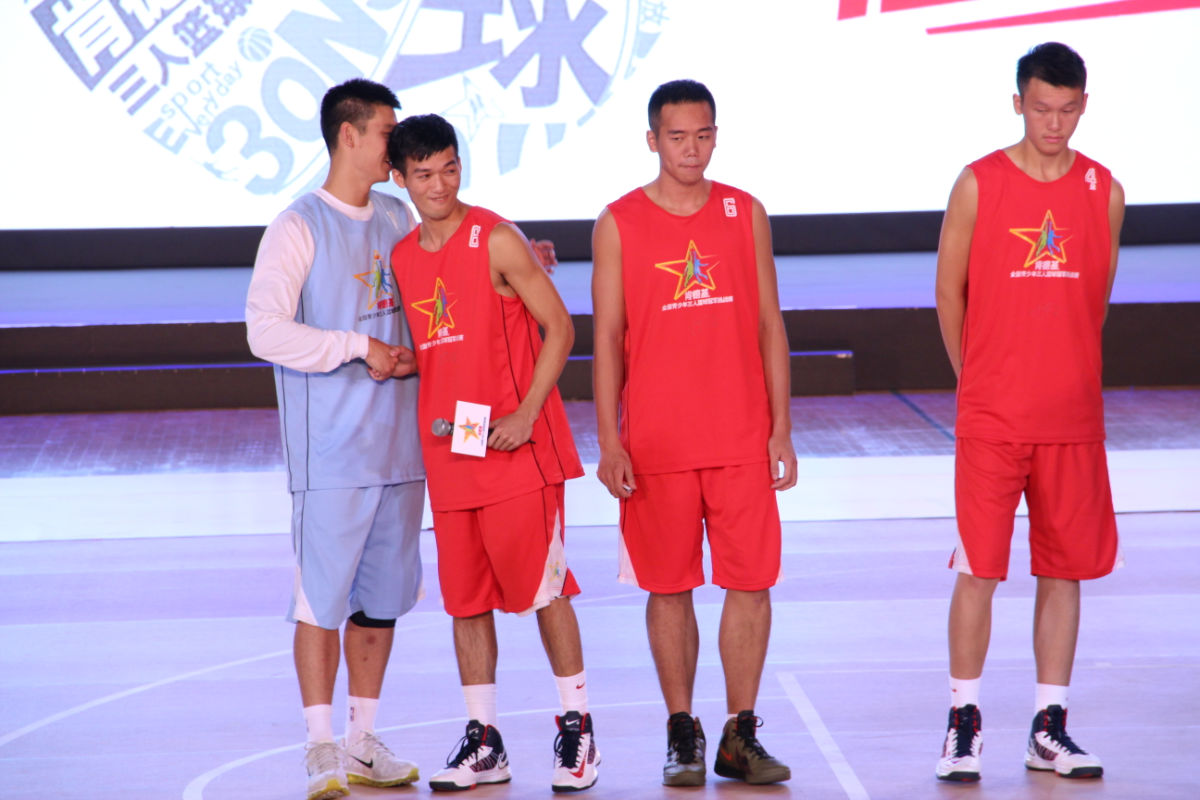 林書豪 肯德基3人籃球 126