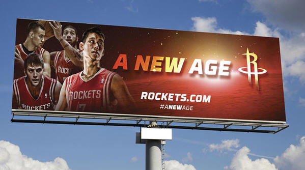 火箭新口號「一個嶄新的時代」林書豪成頭號看板