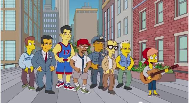 Jeremy出現在新一季的辛普森家庭卡通