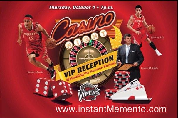 林書豪 火箭隊到賭場和VIP玩撲克牌