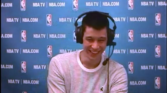 林書豪 火箭 尼克 賽後NBA TV視頻訪問