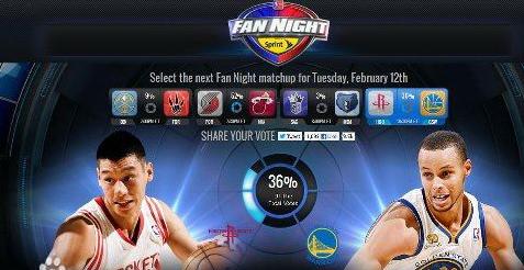 票選NBA聯賽