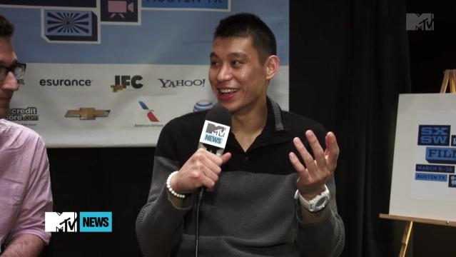linsanity紀錄片 MTVnews 訪問林書豪 1