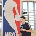 林書豪蒞臨安麗紐崔萊少年NBA訓練營現場