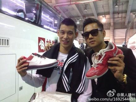 余文樂 林書豪 陳建州 球鞋