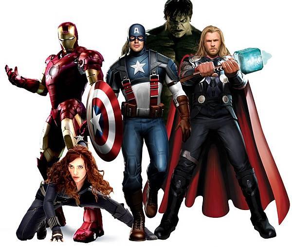 復仇者聯盟The Avengers!!