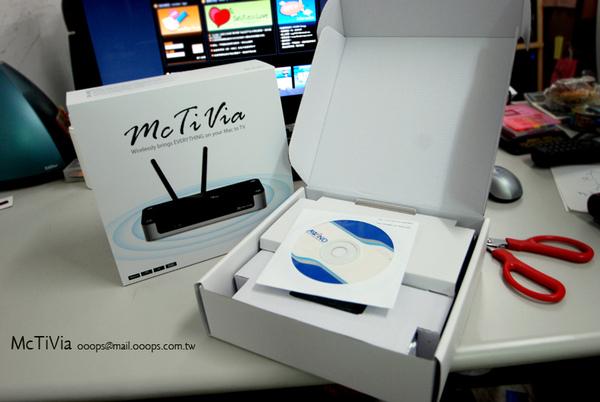 McTiVia開箱