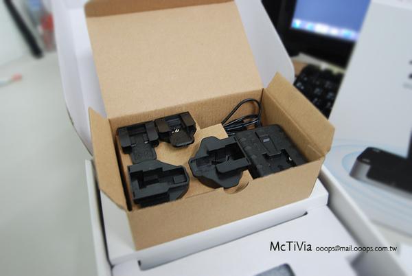 McTiVia電源組