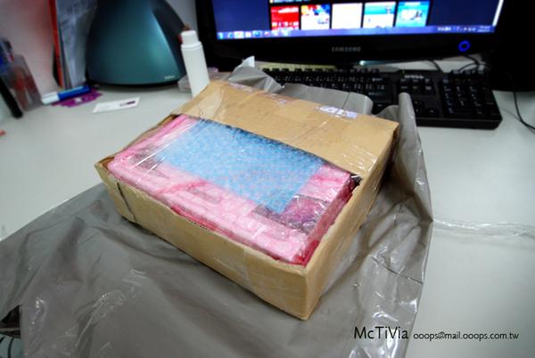 McTiVia測試用產品入手
