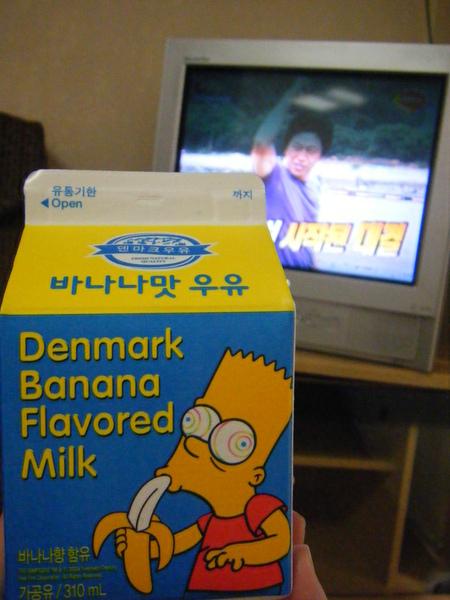 香蕉牛奶真的是非常紅啊!