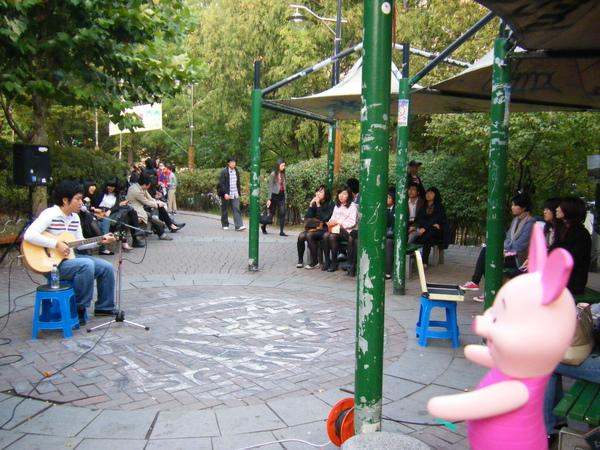 2PM之弘大小公園