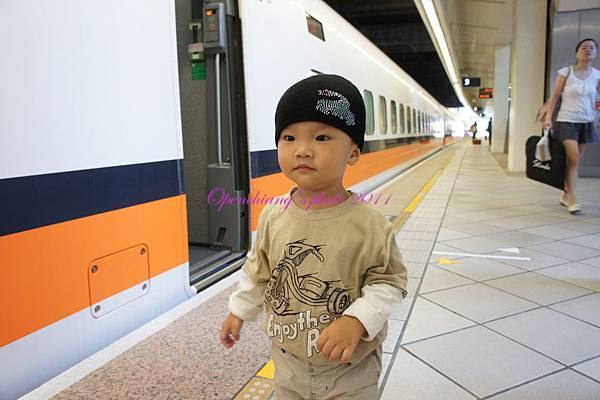 準備搭高鐵到台北囉!