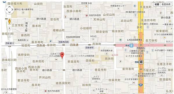三井花園map