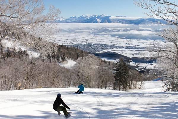 富良野滑雪場1
