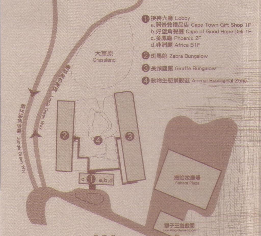 六福莊平面圖1
