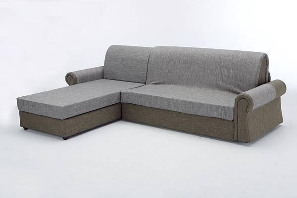 歐朋沙發床 L型