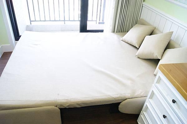 歐朋無扶手單人雙人沙發床