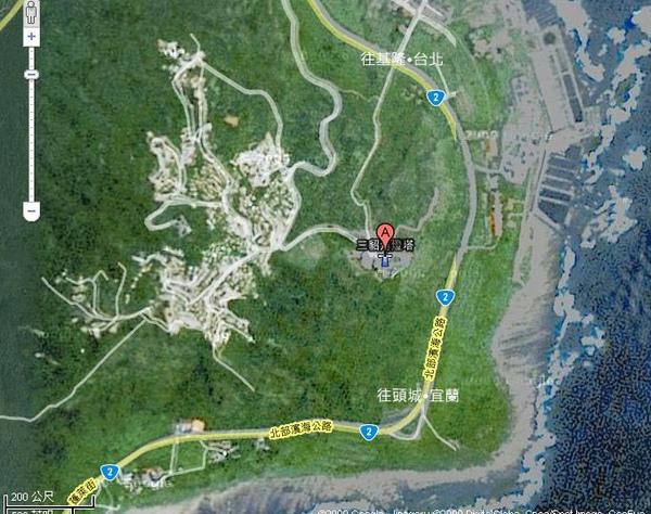 三貂角燈塔位於貢寮鄉福連村的山丘上.jpg