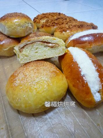 968-花生椰子麵包+奶油椰子麵包+肉鬆沙拉2012.10.30