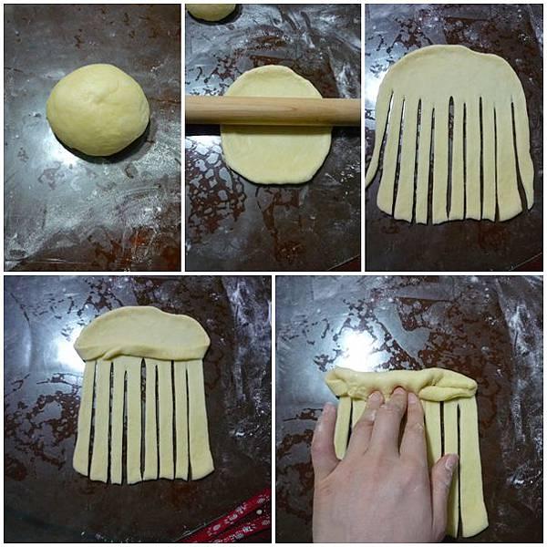 957-牛奶乳酪花型麵包 2013.04.06-2