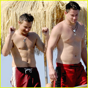 channing-tatum-jeremy-renner-shirtless
