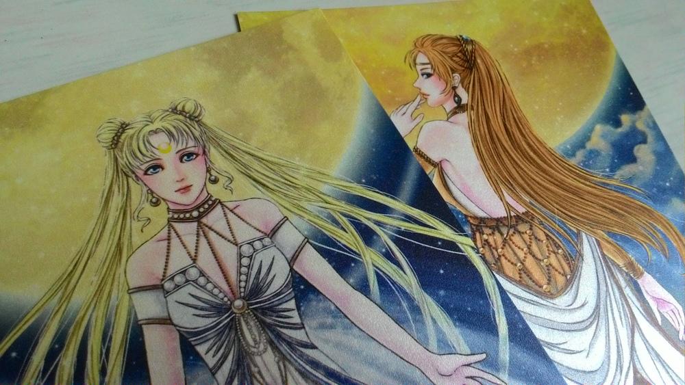 月亮&金星-明信片(正面1)