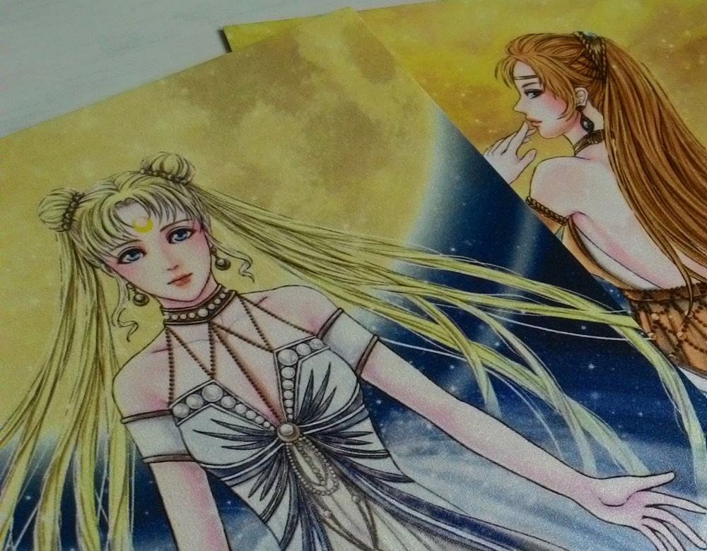 月亮&金星-明信片(正面2)