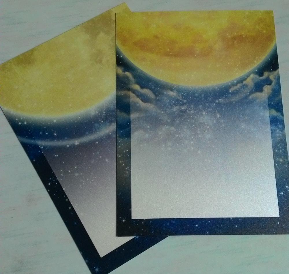 月亮&金星-明信片(背面1)
