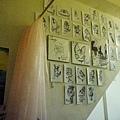 橘橘房間裡面的微型展覽
